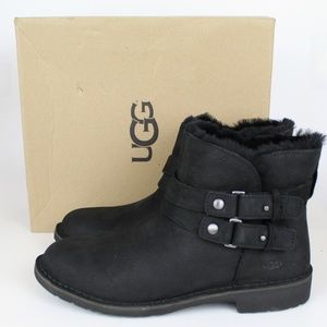 NEW UGG UGGpure Leather Boots Bootie (Women)